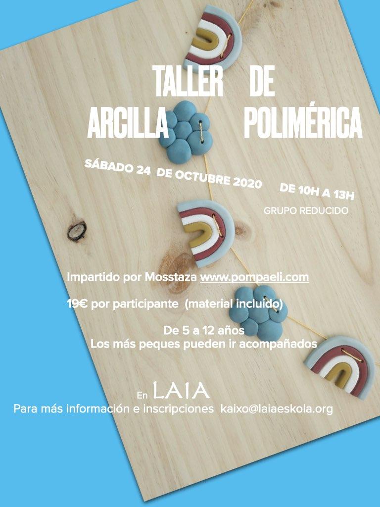 taller de arcilla polimérica impartida por mostazza